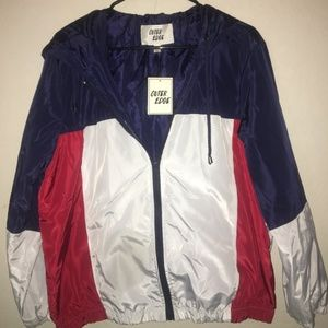 OuterEdge Junior's XL Red White & Blue Jacket NWT